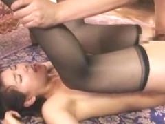 Crazy Japanese girl Kaede Imamura in Exotic Rimming, Stockings/Pansuto JAV movie