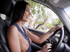 August Ames In August Ames and JMAC Have Fun Fuck