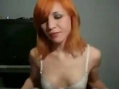 Girl loves to tease cock