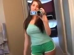 Super hot girlfriend makes movie for her boyfrend