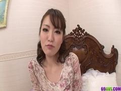 Large Breasted mother I'd like to fuck Tomoka Sakurai Drip His Cum