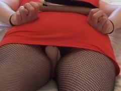 janxblox in fishnet tights