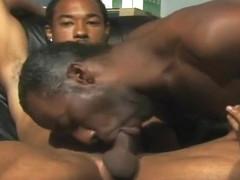 Two Gay Black Studs In Hardcore Scene