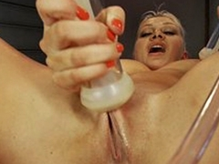 Horny fetish xxx clip with hottest pornstar Lea Lexis from Fuckingmachines