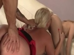 Crazy pornstars Angel Vain and Mae Olsen in hottest big tits, small tits adult movie