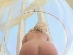 Very nice blonde slut Kimmy Olsen gets a dick in her holes