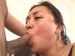 Best pornstars in Incredible Asian sex video