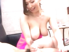 Amazing Japanese chick Ai Sayama in Exotic Handjobs, Big Tits JAV video