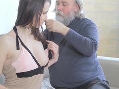 Best pornstar in Incredible Oldie, Redhead xxx clip