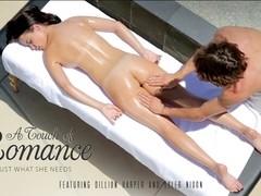 Dillion Harper & Tyler Nixon in A Touch Of Romance Video