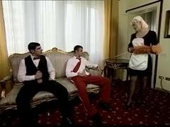 big tits maid serve 2 studs