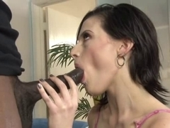 Annika Amour - Fucking with a darksome weenie