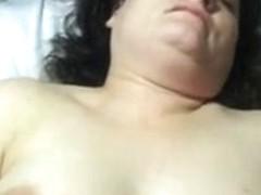 Lustful wife orgasms during sex