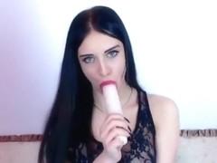Russian webcam brunette Dgaell