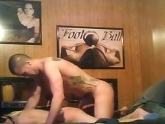 Pigtailed girl fucks her bf, who acts like a boss.