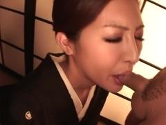 Hottest Japanese model Koyuki Hara in Fabulous JAV uncensored Threesomes scene