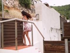 Julia De Lucia In Cumming For Her Landlord
