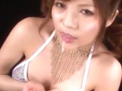 Incredible Japanese model Yuria Kiritani in Hottest Cumshots, Lingerie JAV clip