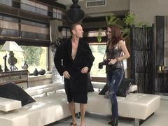 Exotic pornstars Rocco Siffredi, Lyen Parker in Amazing Threesomes, HD xxx clip