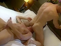 Two Wild And Muscular Lovers In Wild Ass Fucking Action
