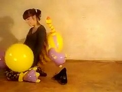 Popping balloon on my dragon