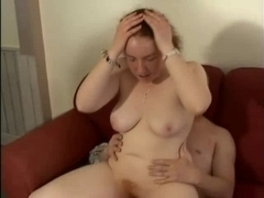Bulky British Dilettante Large Tit Redhead Screwed