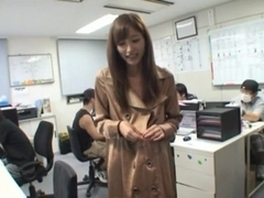 Teen Chika Eiro In Stockings Fucks In The Middle Of An Office