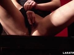 LARA TINELLI Spanish Teen masturbating