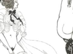 Erotic Book Illustrations of Aubrey Beardsley