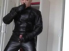 leather biker poppers and whiskey