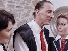 Incredible pornstars Bella Beretta and Susana Melo in best redhead, brazilian adult video