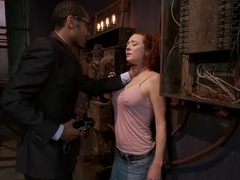 Best fetish xxx clip with incredible pornstars Audrey Hollander and Mickey Mod from Dungeonsex