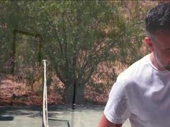 Lauren Phillips In Tennis Toes