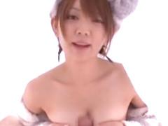 Incredible Japanese model Mayu Nozomi in Hottest Blowjob/Fera JAV clip