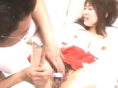 Fabulous Japanese whore Nana Aoyama in Incredible Big Tits, Cunnilingus JAV movie