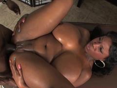 Crazy pornstar in Fabulous Black and Ebony, Big Tits sex clip