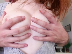 Dee Dee Lynn in Big Titty Ginger Gets Pounded
