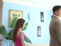 Crazy pornstar in hottest anal, brunette xxx scene