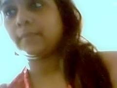 Lewd bhabi showing biggest pointer GFs n fingering bawdy cleft