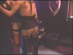 CD Bondage & Blowjob Scene