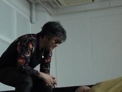 Megumi Haruka Asian amateur is tied and waxed
