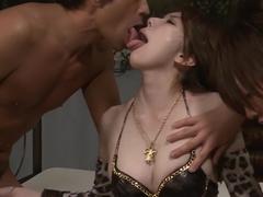 Crazy Japanese girl Yui Hatano in Amazing JAV uncensored Group Sex movie