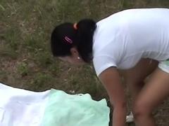 Krystinka in girl on bike gets nasty in an amateur sex video