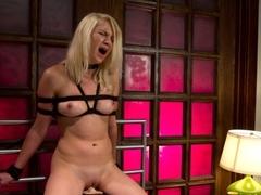 Horny fetish xxx video with crazy pornstar Natasha Lyn from Fuckingmachines