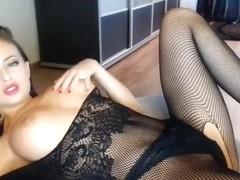 Mirrabelle13 in sexual black dress