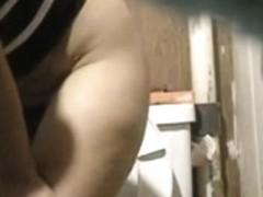 Hidden Camera - Spying in bathroom 2