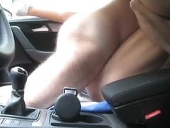 Fucking my coworker in a car