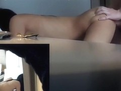 multiple hidden cams on slut in hotel - part 1