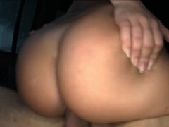 Amber Rayne is being fucked on the way home
