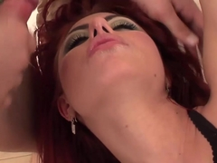 Horny pornstar Crystal Crown in Exotic DP, Anal sex scene